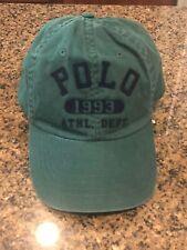 """NWT Polo Ralph Lauren Men's """"Polo 1993 ATHL. DEPT."""" Baseball Cap Hat"""