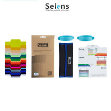 Selens Universal Flash Gels Lighting Filter + Two Gels Bands Kits for Flashlight