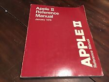 VINTAGE 1978 APPLE II REFERENCE OWNERS MANUAL - The RED BOOK