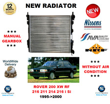 FOR ROVER 200 XW RF 216 211 214 216 i Si 1995->2000 NEW RADIATOR * OE QUALITY *