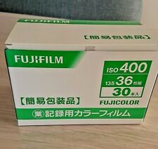 Fuji film ISO 400 35mm 36ex  color film set of 30   Expired  DHL shipping