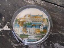 2 / Ancien presse papier vue fixé sous verre, château Amboise