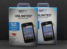 LG Optimus Dynamic II NET10 NTLGL39CP Android Smartphone Prepaid BRAND NEW