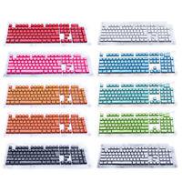 104 Keys Double Shot PBT Backlit KeyCaps Set For Cherry MX Mechanical Keyboard