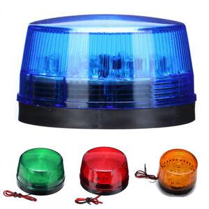12V LED Strobe Beacon Emergency Alarm  Warning Flashing Light Safety Signal Lamp