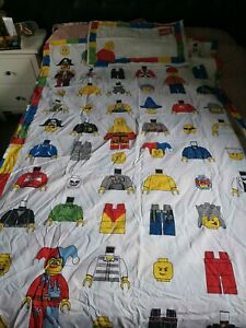 Lego Mini figures single Duvet Cover Set