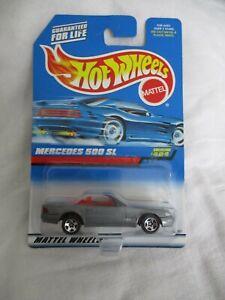 Hot Wheels 1998 Collectors # 494 Mercedes 500SL Mint In Card