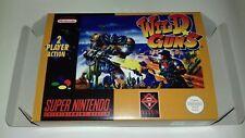 Wild Guns - PAL  - Super Nintendo - Snes - Only Box