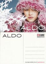 ALDO SHOES UNUSED ADVERTISING COLOUR  POSTCARD