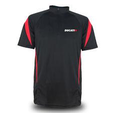 Genuine Ducati Motorcycle Racing Speed Motocross Motorbike Black Men Tee T-Shirt