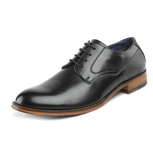 Bruno Marc Mens PU Leather Formal Business Shoes Oxfords Dress Shoes