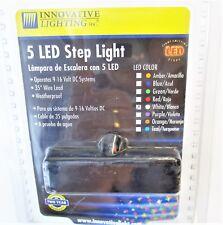 Innovative Lighting 5 LED Step Light White New 9-16V 006-5000-7
