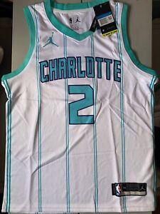 Nike Charlotte Hornets Lamelo Ball #2 Swingman Jersey White Size M