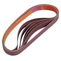 220-Grit Sanding Belts for Work Sharp WSKTS, 6-Pack