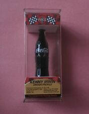"Coca-Cola McDonald's Racing Team 3.5"" COKE Bottle Kenny Irwin #28 NIB"