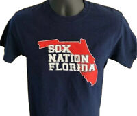 Chicago White Sox Nation Florida Small Blue Short Sleeve T-Shirt Adult Baseball