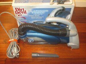 Dirt Devil Platinum Force Portable Vacuum Cleaner 08240 GREAT COND.