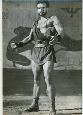 Steve Reeves  Vintage silver print Tirage argentique  13x18  Circa 1950