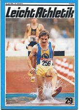 Leichtathletik Nr. 29/1986
