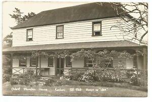 1955 New Zealand ◊ Oldest Wooden House 'Kerikeri' ~ Postcard