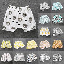 Hot Summer Toddler Infant Kids Baby Boys Girl's Print Harem Pants Shorts Bottoms