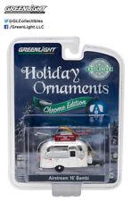 Greenlight 29916 1/64 Airstream 16' Bambi Chrome Edition Holiday Ornament