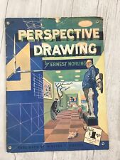 VTG PERSPECTIVE DRAWING by Ernest Norling WALTER T. FOSTER Art Instruction #29