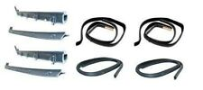 81-91 C/K Blazer Window Felt Channel Belt Rubber Weatherstrip Door Seal 8 pc Kit