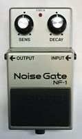 BOSS NF-1 Noise Gate Guitar Effects Pedal MIJ 1985 #18 with Box Free Shipping