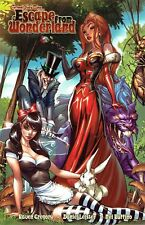 Escape from Wonderland by Raven Gregory 2011 Zenascope Graphic Novel