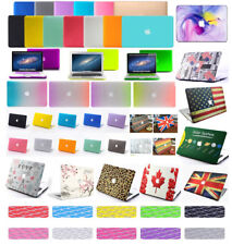 """Rubberized Hard Case Shell +Keyboard Cover for Apple Macbook Pro/Air 13/15"""" 2015"""