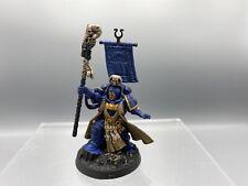 070720 Warhammer 40k Ultramarines - Painted Chief Librarian Tigurius Primaris