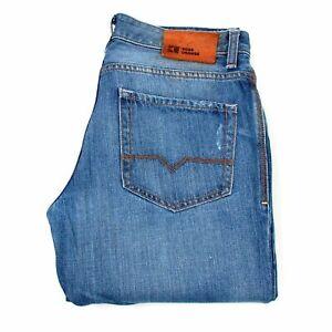 24976 Hugo Boss Regular Fit Bleu Hommes Jean Taille 34