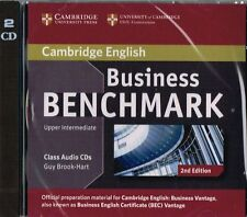 Cambridge BUSINESS BENCHMARK Upper-Intermediate BEC Vantage AUDIO CD 2nd Ed @NEW
