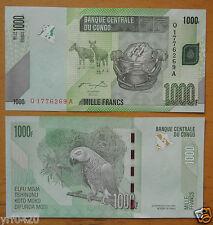 Congo Banknote 1000 Francs 2005 UNC