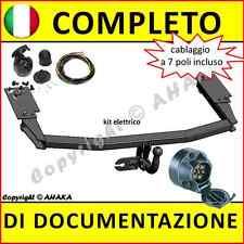 Gancio di traino fisso Mazda 6 berlina hatchback 2002-2008 +kit elettrico 7-poli