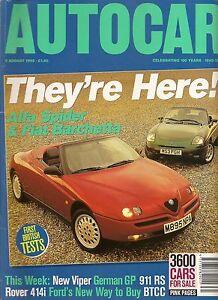 AUTOCAR 2/8/95 UNREAD SUBSCRIPTION COPY!!! - PORSCHE 911 RS  *POST FREE UK