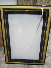 Gold & Black Backlighted One Sheet Theater Poster Cases ! Handy Man Special !