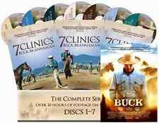 "7 Clinics with Buck Brannaman Complete Set Vols 1-7 + Bonus movie ""BUCK"""