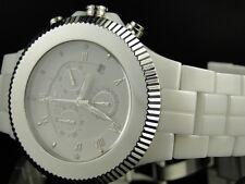 Mens Ladies New Icetime Aqua Master joe Rodeo Ceramic Paradise Watch 45 MM