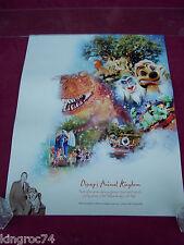 "NEW-MINT- 2003  Walt Disney,""DISNEY'S ANIMAL KINGDOM"" ""100 Years of Magic""poster"