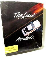 SPECTRUM 48k 128k CASSETTE GAME -- THE DUEL TEST DRIVE II -- 1988