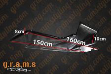 UNIVERSAL 160cm Top Secret / Shine Optik Diffusor / Undertray Racing Aero v4