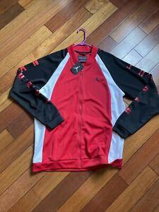 Black Jordan athletic jacket sz XL