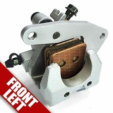 Front Brake Caliper for Yamaha Grizzly 660 Left Side Pad YFM 4WV2580T1000 04 05
