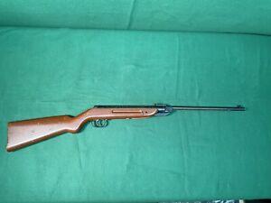 Vintage Hy-Score Model 801 / Diana Model 25 Air Rifle .22 CAL Pellet Gun