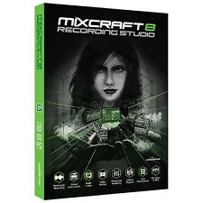 NEW Acoustica Mixcraft 8 Recording Studio Music Audio Creation PC