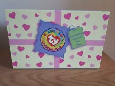 TY Beanie Babies Official Club Memory Box complete 2004
