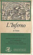 O20 L'inferno Dante Ed. Urban II ed 1977