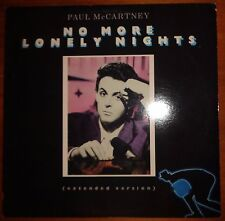 "Paul McCartney – No More Lonely Nights Vinyl 12"", 33 ⅓ RPM Col– 44-05077 PROMO"